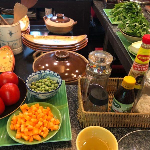 ベトナム料理教室:ハノイの家庭料理を学んでみよう♫