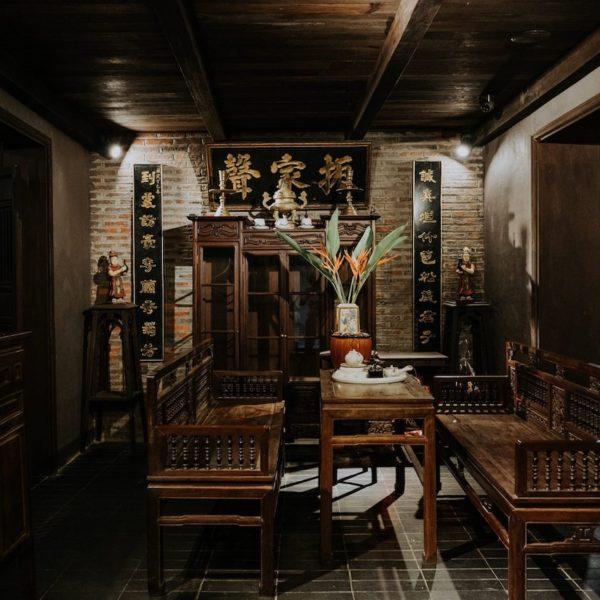"""本格的なハノイ家庭料理の古民家レストラン""""Tầm Vị"""""""
