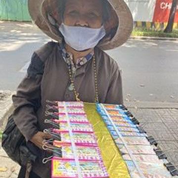 宝くじに見るベトナム