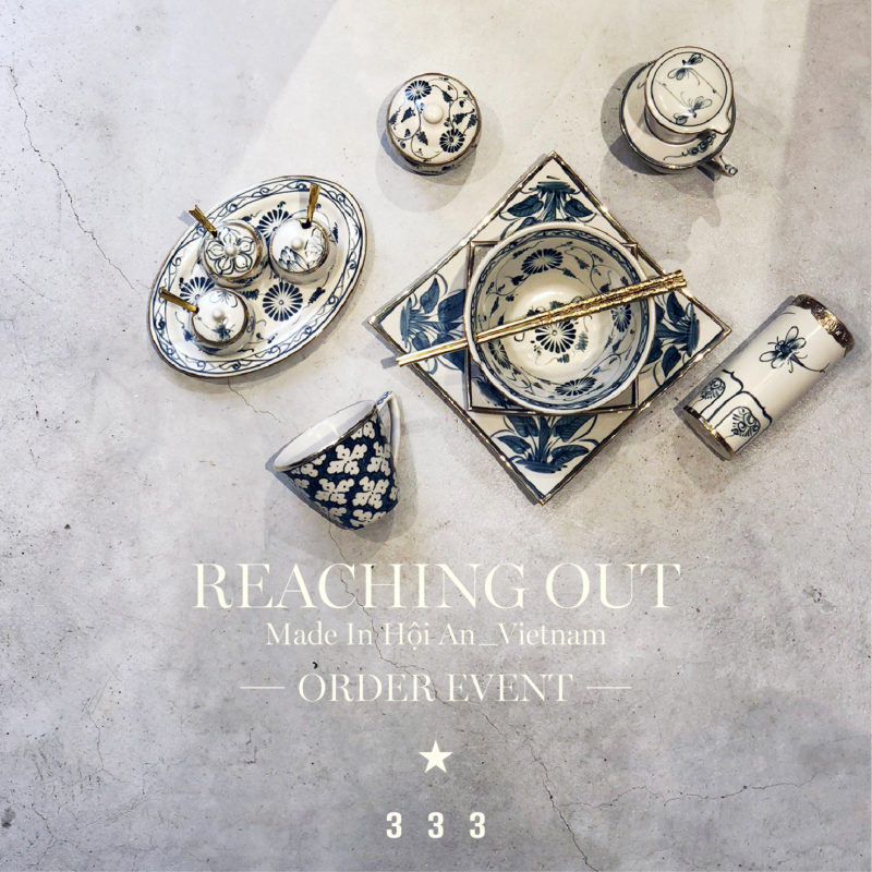 """"""" Reaching Out """" 特別受注会のお知らせ"""